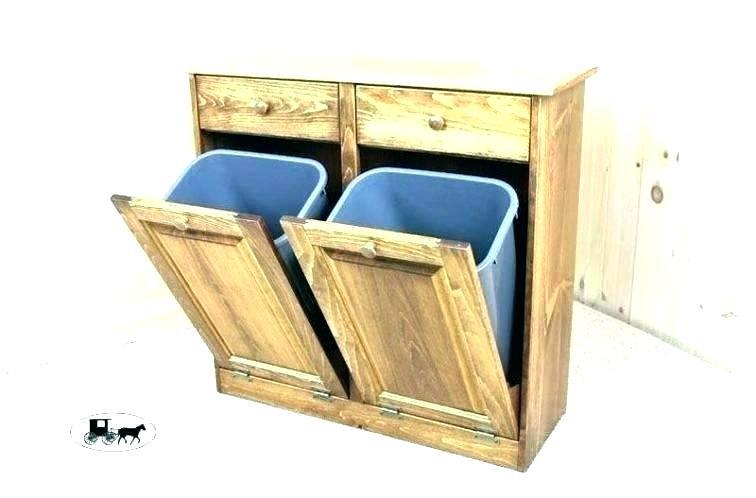 heavenly trash can storage cabinet