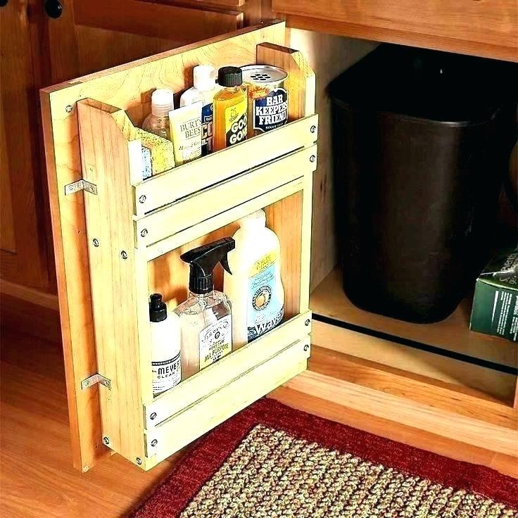 sympathetic spice cabinet with doors