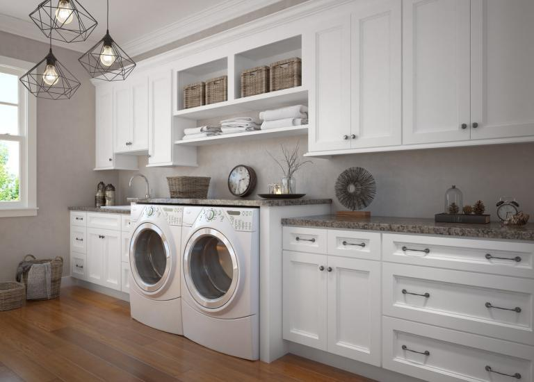 appealing premade laundry room countertops
