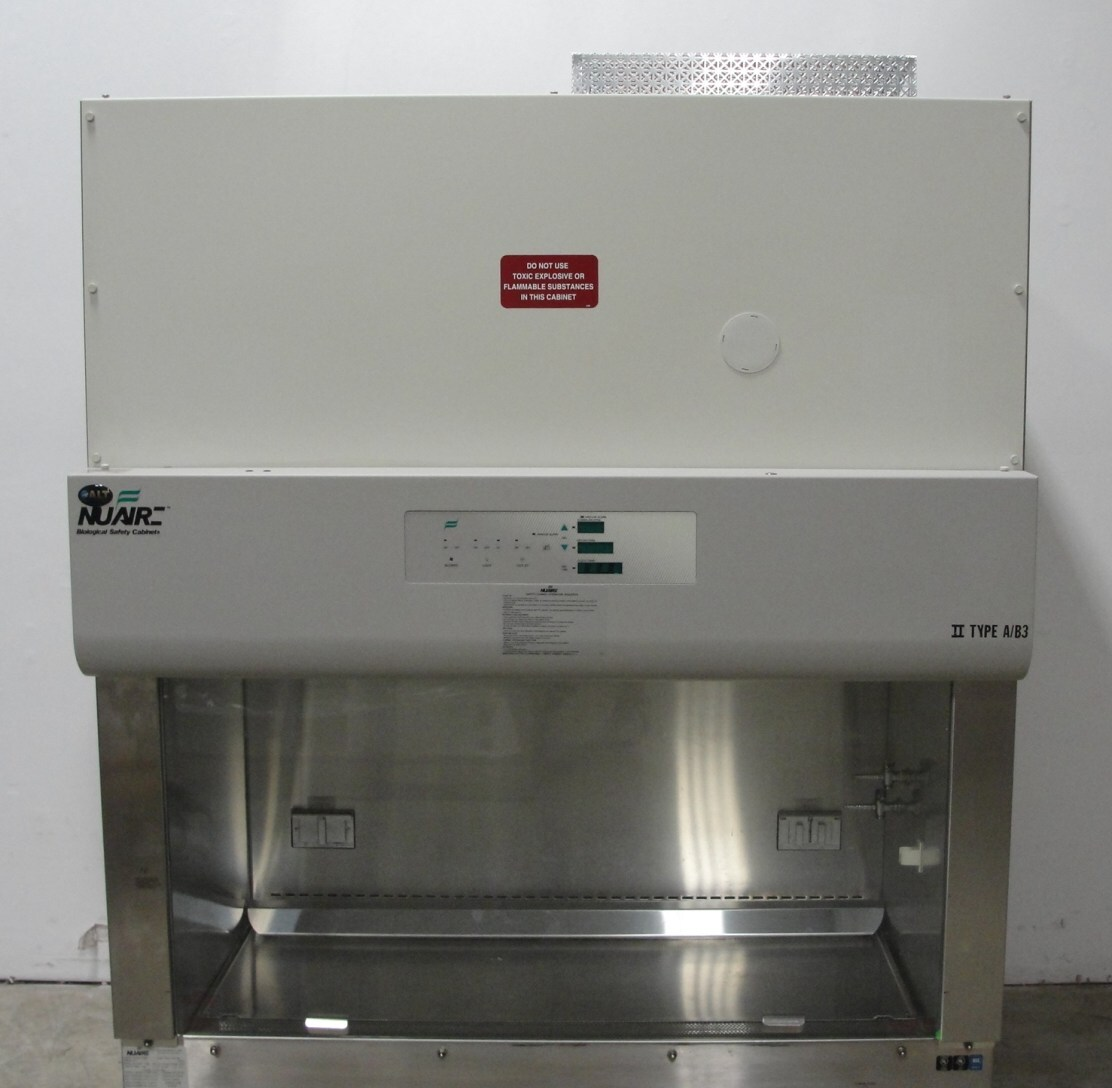 classic nuaire biological safety cabinet