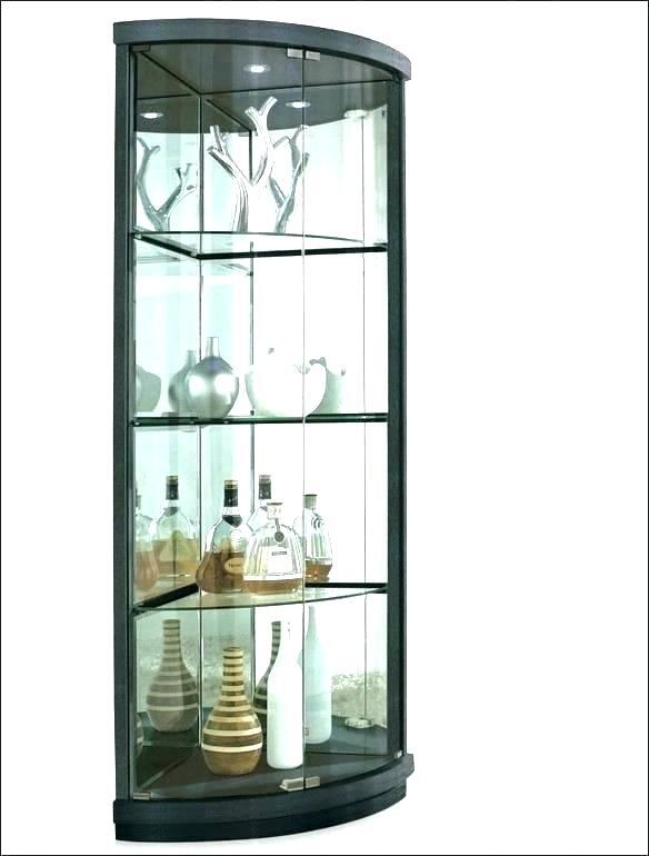 exciting white curio wall cabinet