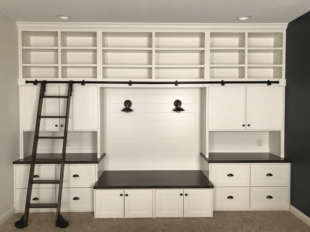 neutral custom built in tv cabinets