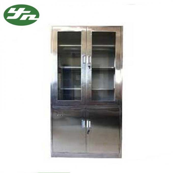 scenic stainless steel medical cabinet