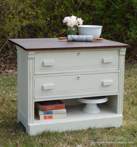 scenic turn drawer into file cabinet