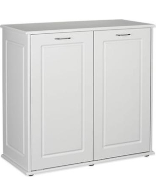small spaces laundry hamper cabinet tilt out