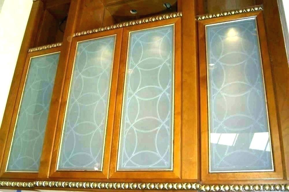 affordable cabinet door glass inserts