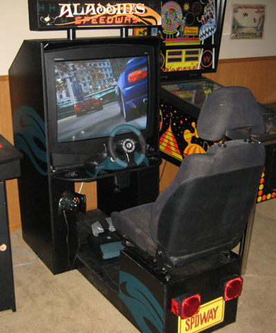 classy build video game cabinet