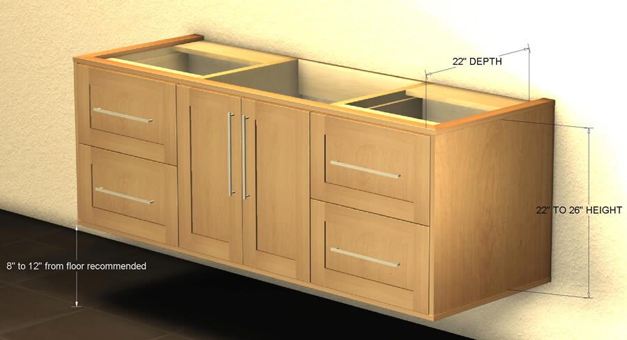 formalebeaut floating vanity cabinets for sale