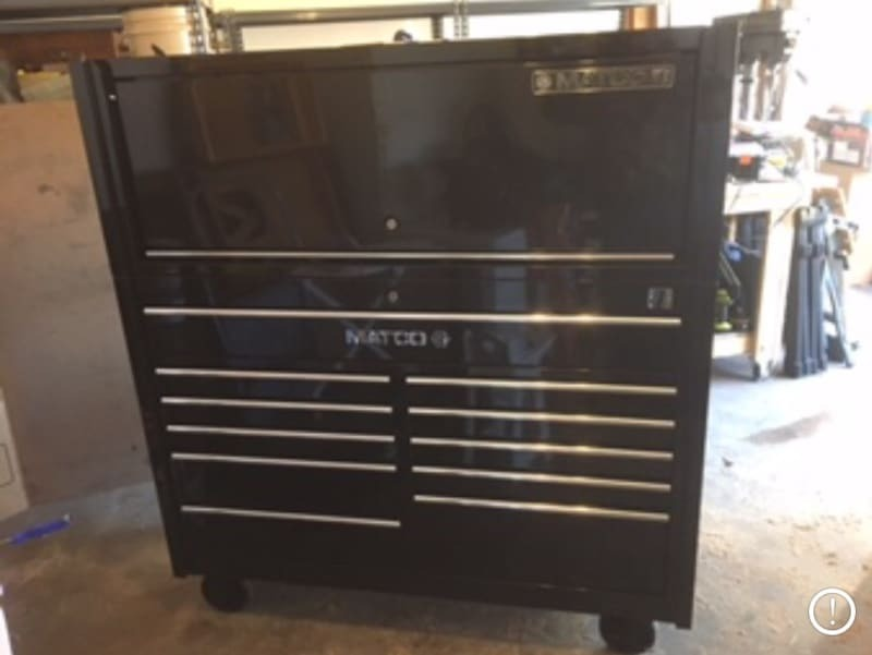 little space matco tool cabinet