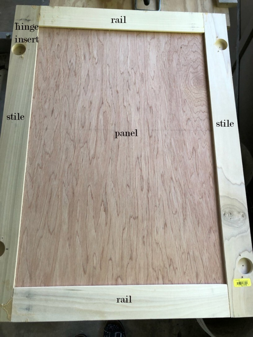 scenic how to build a simple cabinet frame