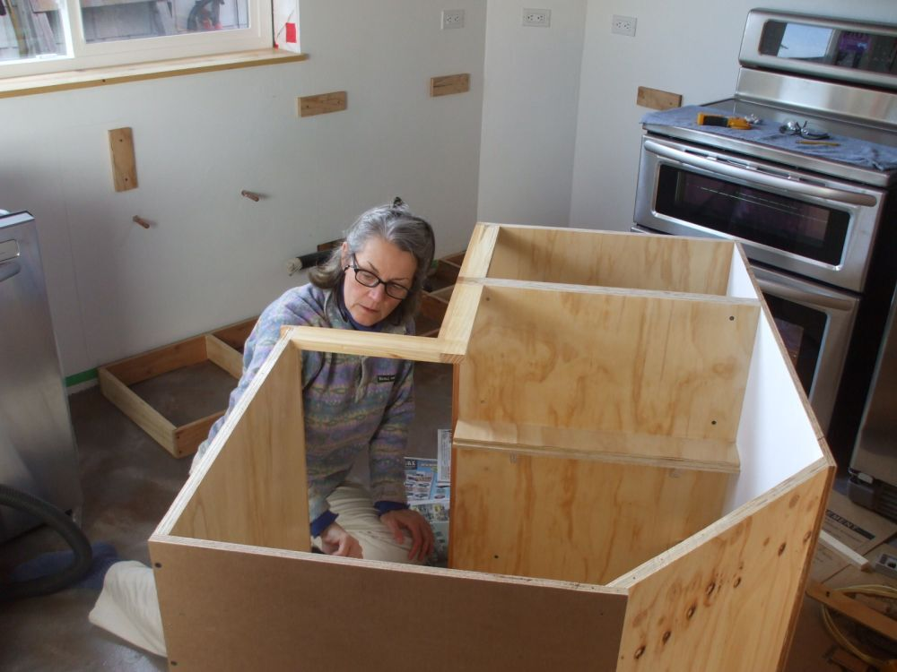 Good Looking How To Build A Kitchen Cabinet From Scratch ...