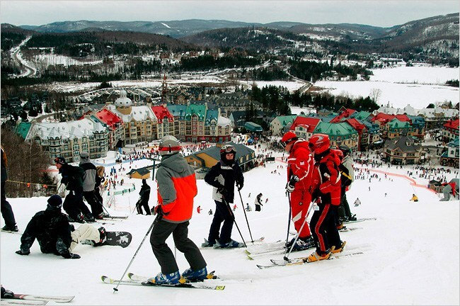 pictures mont tremblant ski hours