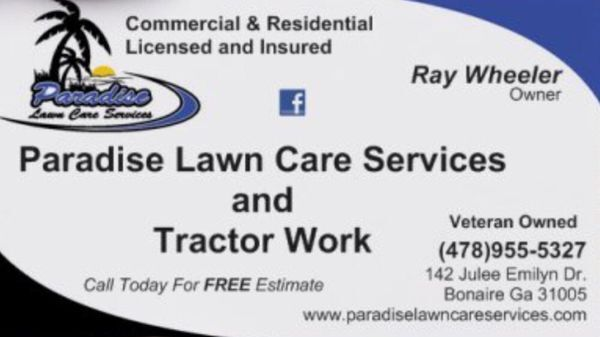 involved paradise lawn care