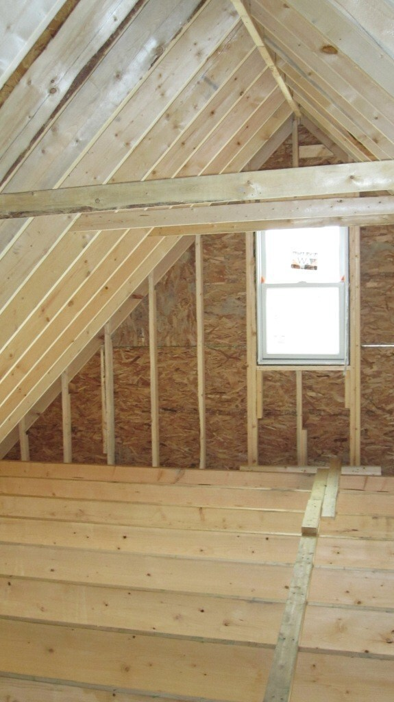 layout rafters vs trusses