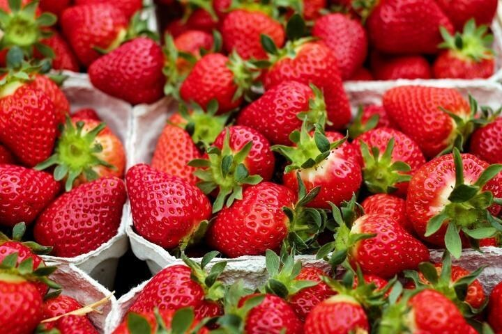 pretty strawberries in the news